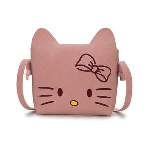 NWT girls purse pink kitty